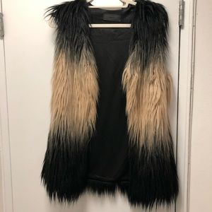 BlankNYC Faux Fur Vest